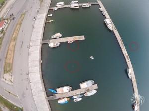 Notre drone se trouve à 40 mètres d'altitude