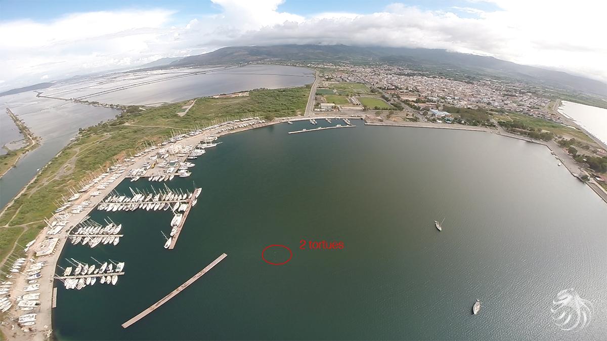 Notre drone se trouve à 80 mètres d'altitude
