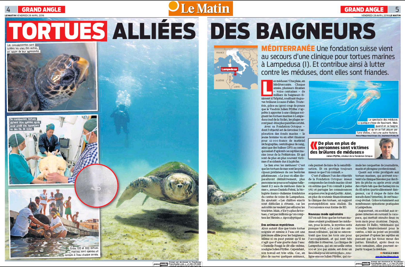 Article du Matin.