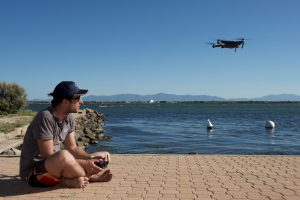 Drones that are widely sold are excellent tools to observe the marine world from a different angle © Octopus Foundation