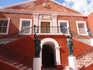 L'ancienne maison du gouverneur de l'île de Mozambique transformée aujourd'hui en musée © Octopus Foundation