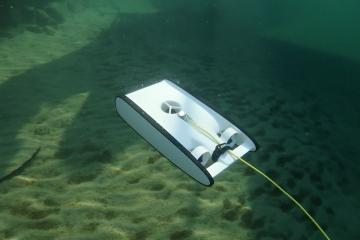 La version Beta du Trident d'OpenRov nous accompagne au Mozambique pour étudier les épaves © Octopus Foundation