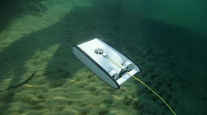 The beta version of the Trident developed by OpenRov, a great tool to explore shipwrecks © Octopus Foundation